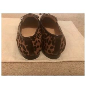 J. Crew Shoes - J.CREW ACADEMY LOAFERS IN LEOPARD CALF HAIR